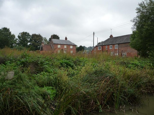 Burbage Wharf, from the south-west