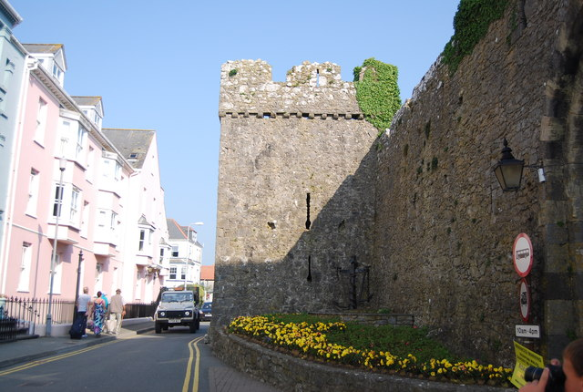 Town Wall, Tenby