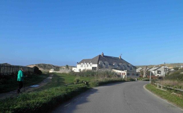 St. Pirans Inn Holywell Bay