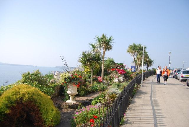 Cliff top gardens, The Esplanade