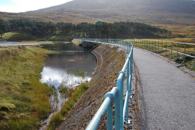 Loch Droma Dam