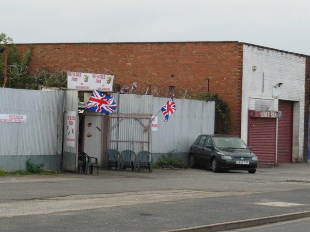 A snack bar on Raven Street, Hull