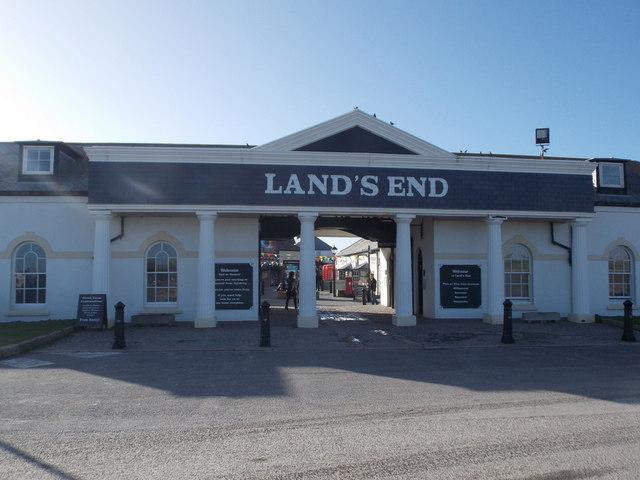 Land's End: main visitor entrance