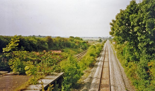 Site of former Irchester station