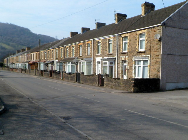 London Terrace, Cwmavon