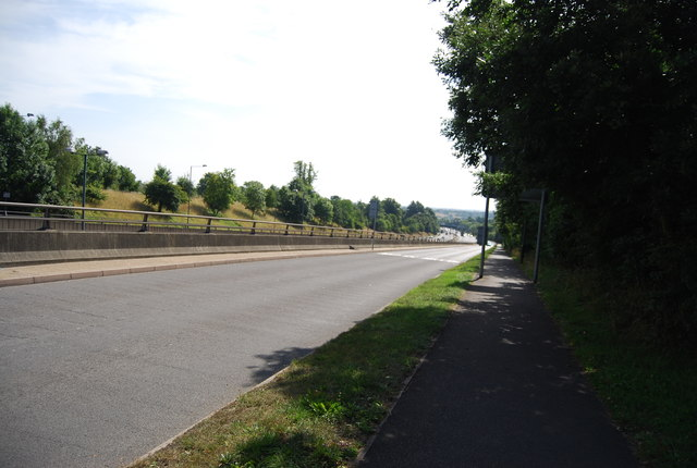 Slip road from the A20