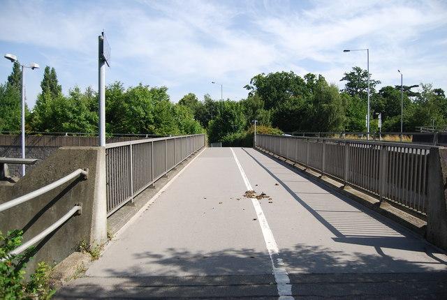 Footbridge over the A20