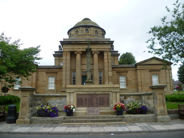Greenlaw Court House and War Memorial