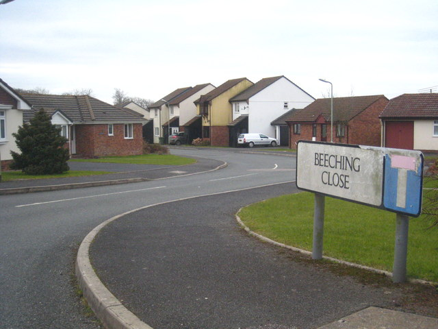Beeching Close at Halwill Junction