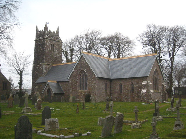 The Church of St Peter and St James at Halwill