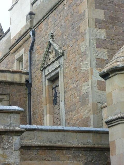 Door of the Old Edinburgh Tolbooth