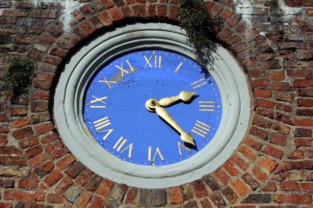 The Clock at Erddig Hall