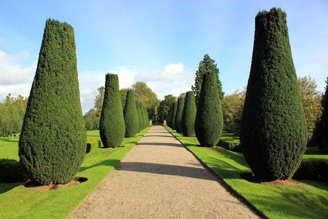 The Gardens at Erddig Hall