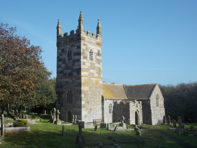 The Lizard: parish church of St. Wynwallow, Landewednack