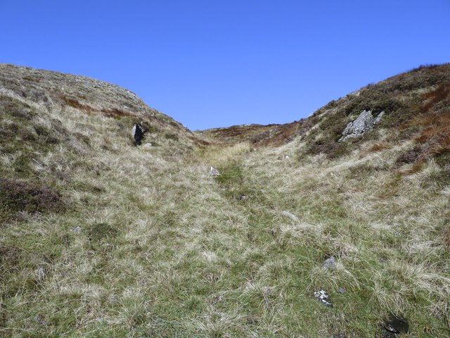 Nearing the summit of Drigmorn Hill