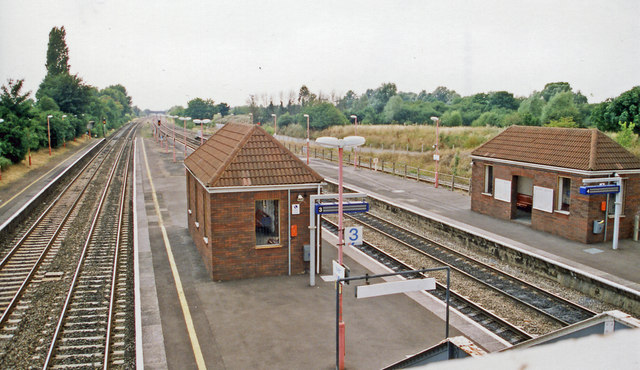 Iver station, 1999
