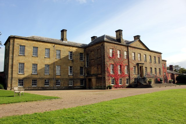 The West Face of Erddig Hall
