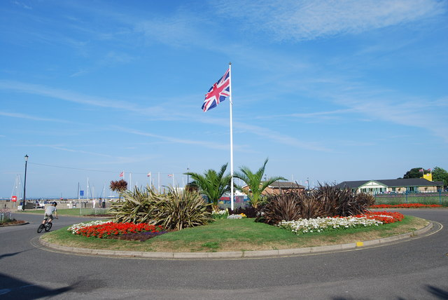 Roundabout in Eastern Gardens