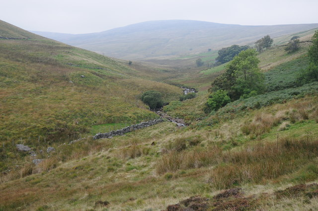 Eunant Fawr valley