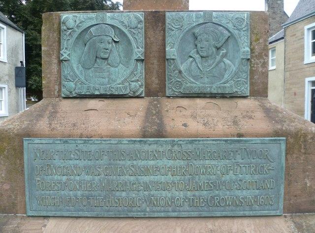 Mercat cross plaques