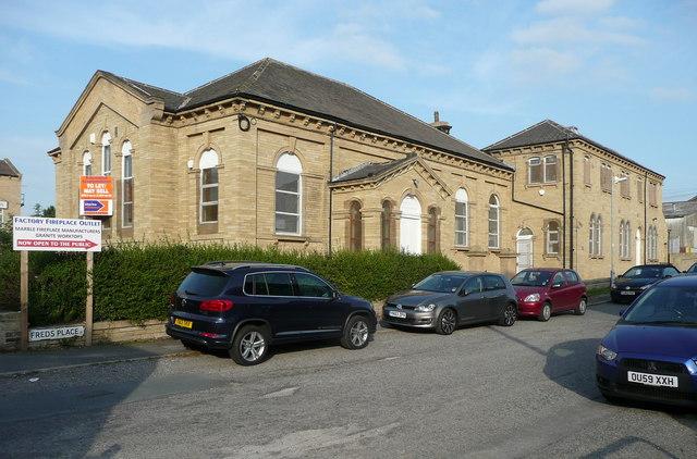 Closed chapel, Sticker lane, Bradford