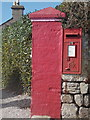 SW7012 : The Lizard: postbox № TR12 41, Penmenner Road by Chris Downer