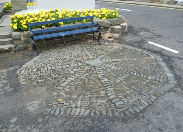 Earlier site of the Selkirk Cross