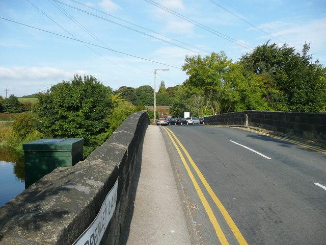 Apperley Lane over the old bridge