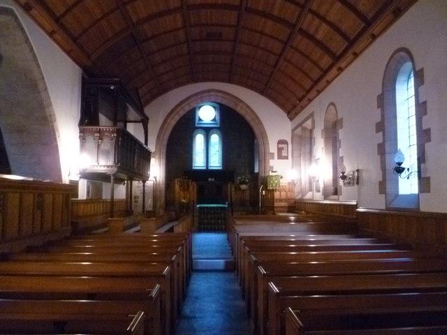 Bowden Kirk interior