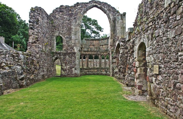 Abbot's private rooms, Haughmond Abbey, near Haughton, Shrops