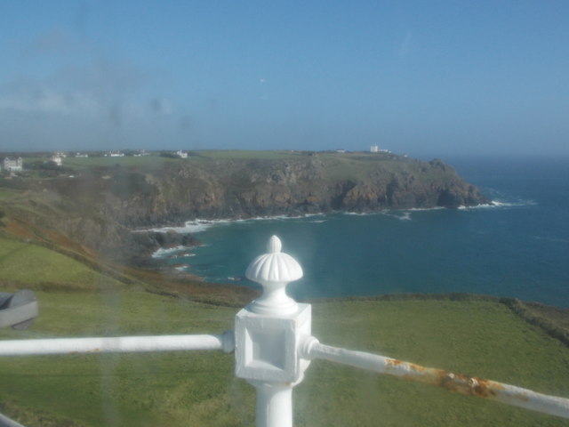 The Lizard: view from the lighthouse