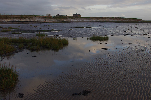 Foreshore at Cockersand Abbey
