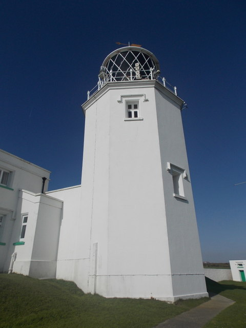 The Lizard: east tower of the lighthouse
