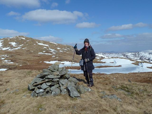 Drigmorn summit cairn