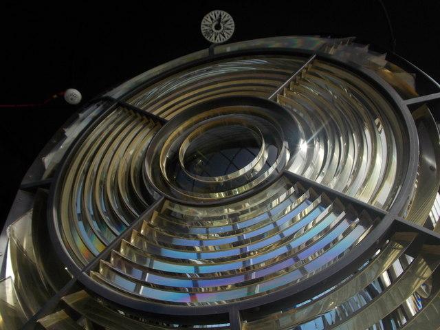 The Lizard: the lighthouse lens