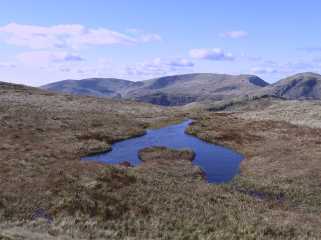 Unnamed lochan near Red Gairy
