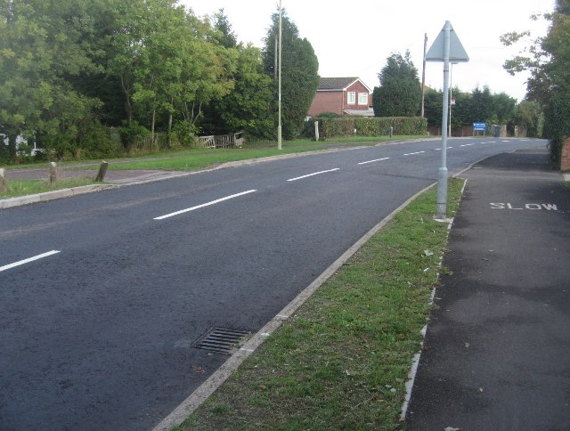 Recently resurfaced Pack Lane