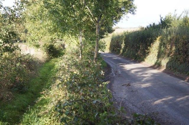 Passing space - Trenchard Lane