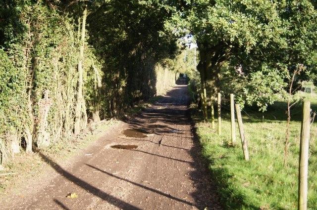 Access road & bridleway