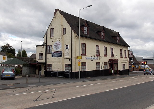 Cock Hotel and The Old Wrekin Tap, Wellington