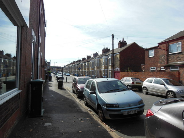 Falmouth Street off Cottingham Road, Hull