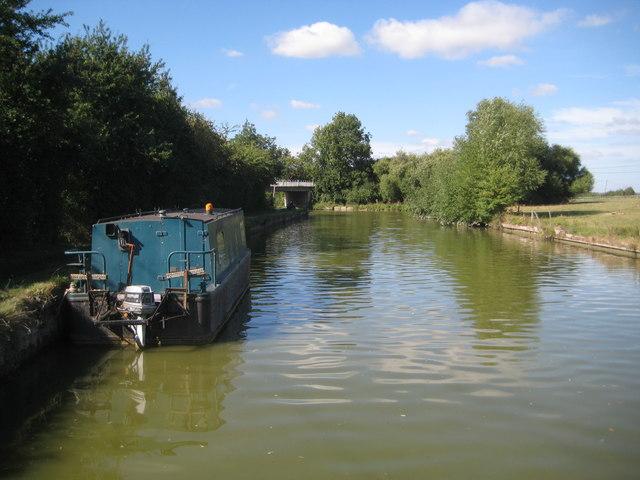 Grand Union Canal: Reach in Slapton (5)