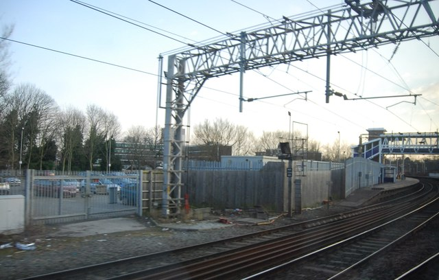 Passing through Cheadle Hulme Station