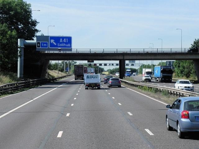 Friday Lane Bridge, M42