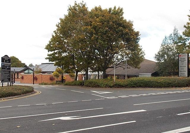 Victoria Road entrance to Wellington Civic & Leisure Centre