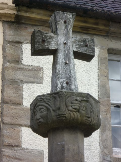 Head of the mercat cross, Main Street
