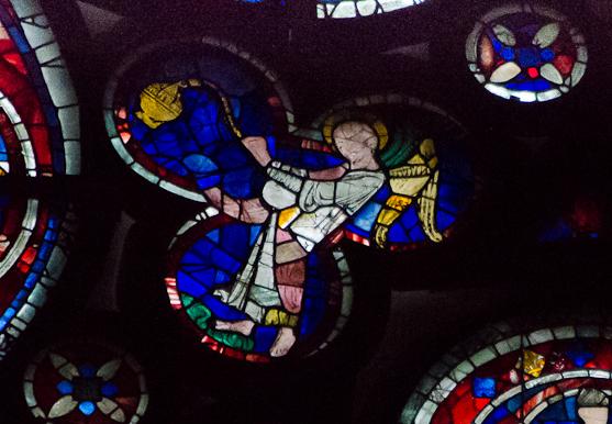 Segment E2, Dean's Eye Window, Lincoln Cathedral