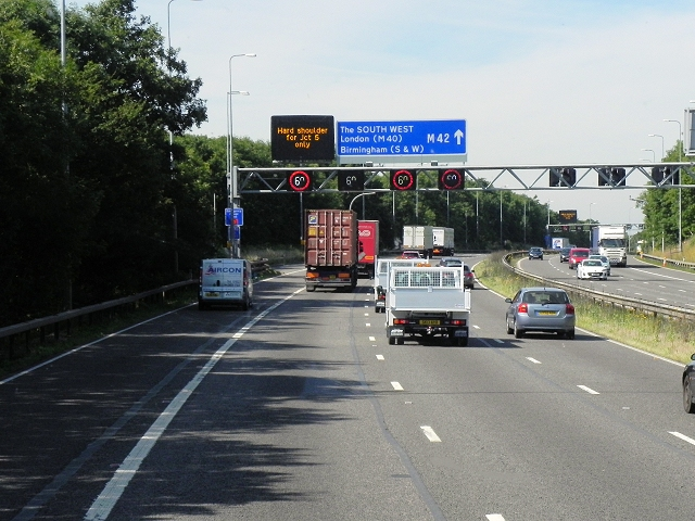 Active Traffic Management on the M42