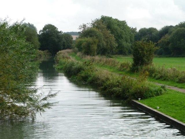Kennet & Avon canal below lock 56
