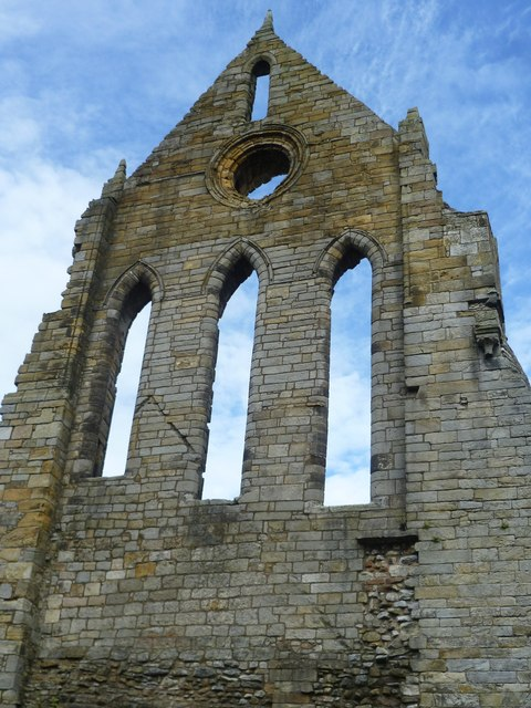 Kilwinning Abbey ruins